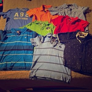 Lot of Boys Shirts - SZ 7/8